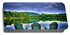 Portable Battery Charger featuring the photograph A View Of Serenity by David Patterson