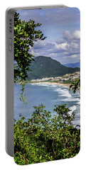 A View Of The Beach Portable Battery Charger