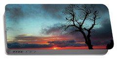 A Virginia Kind Of Sunrise Portable Battery Charger by Darren Fisher
