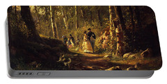 A Walk In A Forest, 1869  Portable Battery Charger