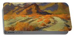 A Walk In La Quinta Cove Portable Battery Charger by Diane McClary