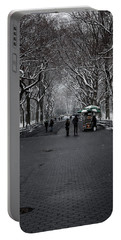 Portable Battery Charger featuring the photograph A Walk In The Park by Anthony Fields