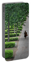 A Walk In The Park In Brittany Portable Battery Charger