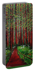 A Walk In The Redwoods Portable Battery Charger