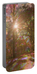 A Walk Through The Rainbow Forest Portable Battery Charger