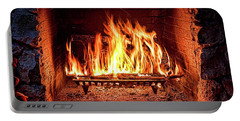 A Warm Hearth Portable Battery Charger by Christopher Holmes