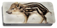 A Wild Boar Piglet Portable Battery Charger