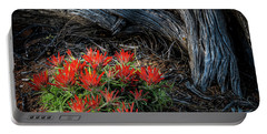 A Wild Bouquet Portable Battery Charger