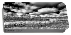 Portable Battery Charger featuring the photograph A Winter Panorama by David Patterson