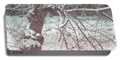 A Winter Tree Portable Battery Charger