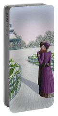 A Winter's Romance Portable Battery Charger
