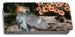 A Woodpecker Conversation Portable Battery Charger