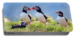 A World Of Puffins Portable Battery Charger