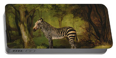A Zebra Portable Battery Charger