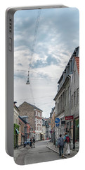 Portable Battery Charger featuring the photograph Aarhus Urban Scene by Antony McAulay