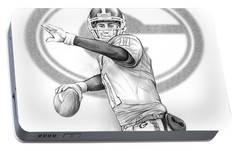 Aaron Murray Portable Battery Charger by Greg Joens