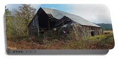Abandoned Barn In Alsea Portable Battery Charger