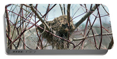 Abandoned Bird Nest Portable Battery Charger