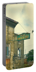 Portable Battery Charger featuring the photograph Abandoned Building by Jill Battaglia