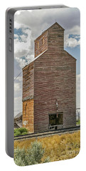 Portable Battery Charger featuring the photograph Abandoned Grain Elevator by Sue Smith