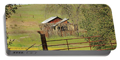 Portable Battery Charger featuring the photograph Abandoned Homestead by Art Block Collections