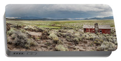 Portable Battery Charger featuring the photograph Abandoned Homestead by Melany Sarafis