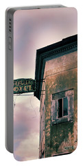 Portable Battery Charger featuring the photograph Abandoned Hotel by Jill Battaglia