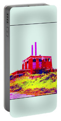 Portable Battery Charger featuring the photograph Abandoned Industrial Power Plant No 2 by Peter Gumaer Ogden