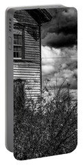 Portable Battery Charger featuring the photograph Abandoned by Kendall McKernon