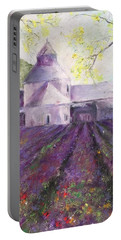 Abbey Senanque    Portable Battery Charger by Robin Miller-Bookhout