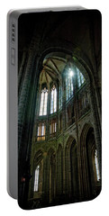 Abbey With Heavenly Light Portable Battery Charger