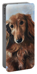 Abby Portable Battery Charger by Diane Daigle