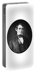Abe Lincoln As A Young Man  Portable Battery Charger