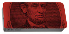 Portable Battery Charger featuring the photograph Abe On The 5 Orange by Rob Hans
