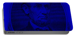 Portable Battery Charger featuring the photograph Abe On The 5 Violet by Rob Hans