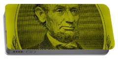 Portable Battery Charger featuring the photograph Abe On The 5 Yellow by Rob Hans