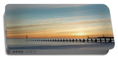 Aberdeen Beach Sunrise Portable Battery Charger