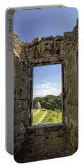 Portable Battery Charger featuring the photograph Aberdour Castle by Jeremy Lavender Photography