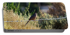 Abert's Towhee Portable Battery Charger