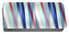 Portable Battery Charger featuring the digital art Ambient 12 by Bruce Stanfield