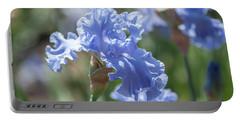 Abiqua Falls 1. The Beauty Of Irises Portable Battery Charger