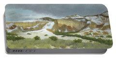Abiquiu In Winter Portable Battery Charger