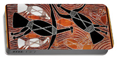 Aboriginal Birds Portable Battery Charger