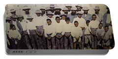 Portable Battery Charger featuring the photograph Aboriginal Life 1901 To 1914 by Miroslava Jurcik