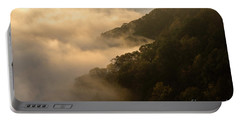 Above The Mist - D009960 Portable Battery Charger by Daniel Dempster
