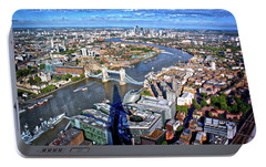 Portable Battery Charger featuring the photograph Above The Shadow Of The Shard by Jim Albritton