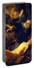 Abraham And Isaac Portable Battery Charger
