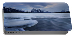 Abraham Lake Sans Bubbles Portable Battery Charger