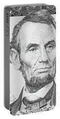 Portable Battery Charger featuring the photograph Abraham Lincoln by Les Cunliffe