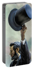 Portable Battery Charger featuring the photograph Abraham Lincoln by Mary Timman
